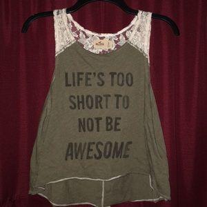 Hollister Lace Shirt
